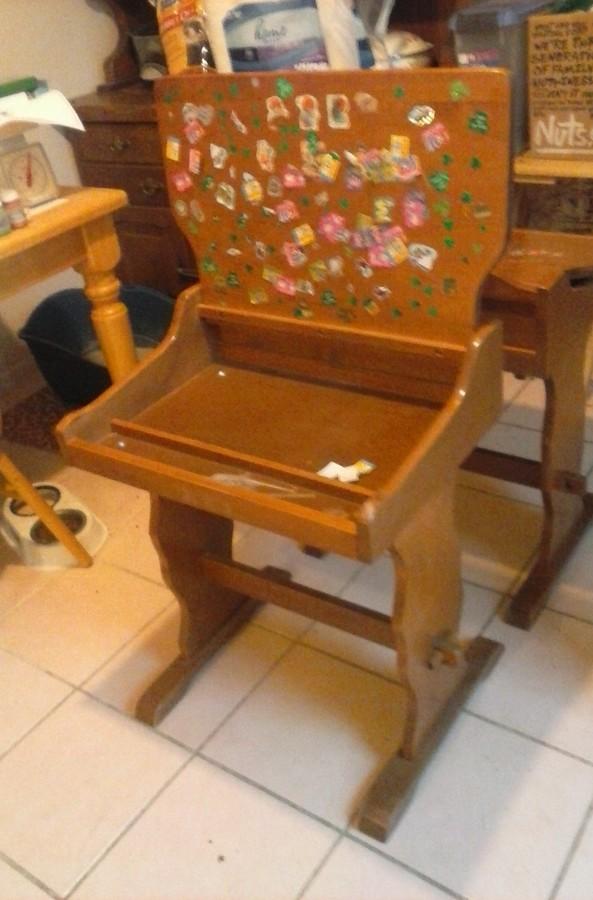 Oak Hill Keene New Hampshire Childrens Desk My Antique
