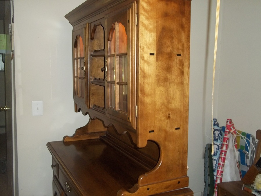 Hutch 2 Piece Made In Rockingham Nc My Antique