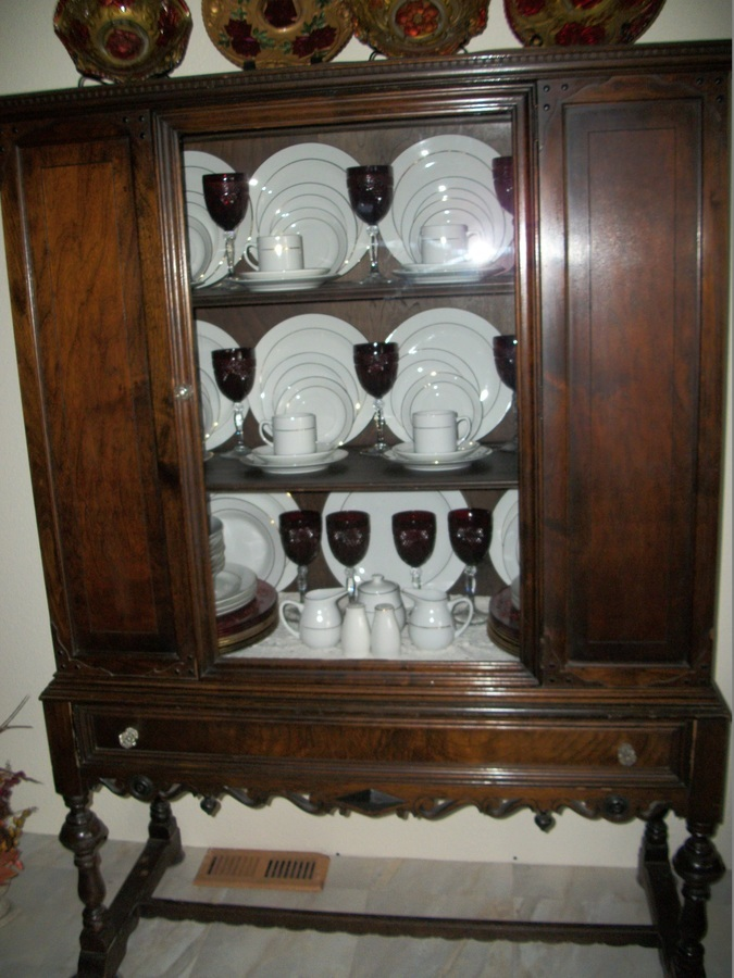 Old China Cabinet Need Info My Antique Furniture