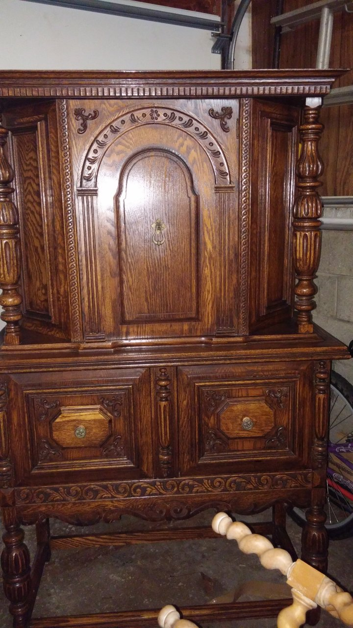 Antique China Hutch >> Reaser China Hutch 1931 | My Antique Furniture Collection
