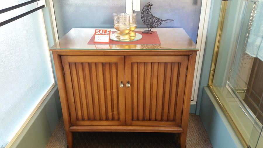 Solid Cherry Wood Willett Company Buffet Cabinet My