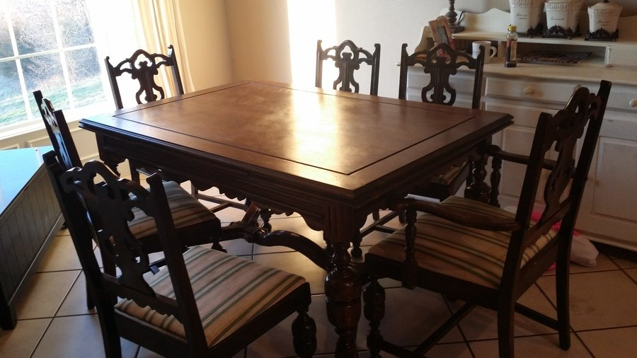 Empire Chair Company In Johnson City Tennessee Dining Room Table And 6 Cha