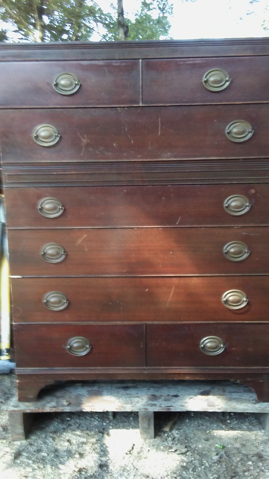 Mengel Permanized Chest Of Drawers 6 Drawers Any Help