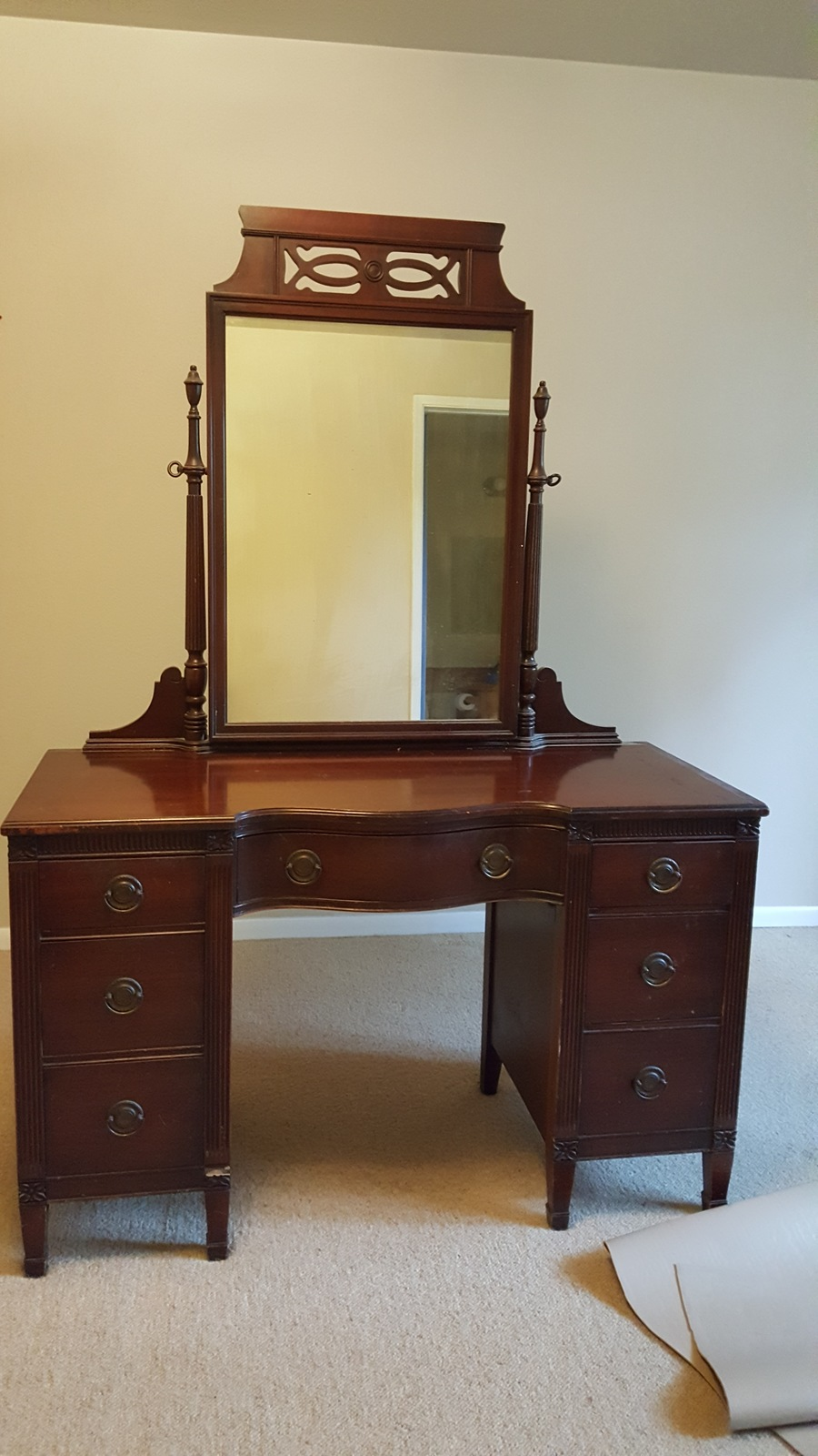 2600 Mahy Vanity My Antique Furniture Collection