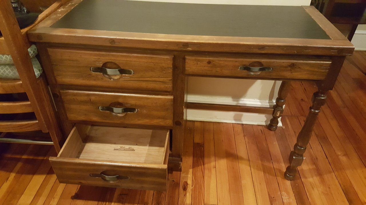 Wanted Young Hinkle Ship Ahoy Desk My Antique Furniture