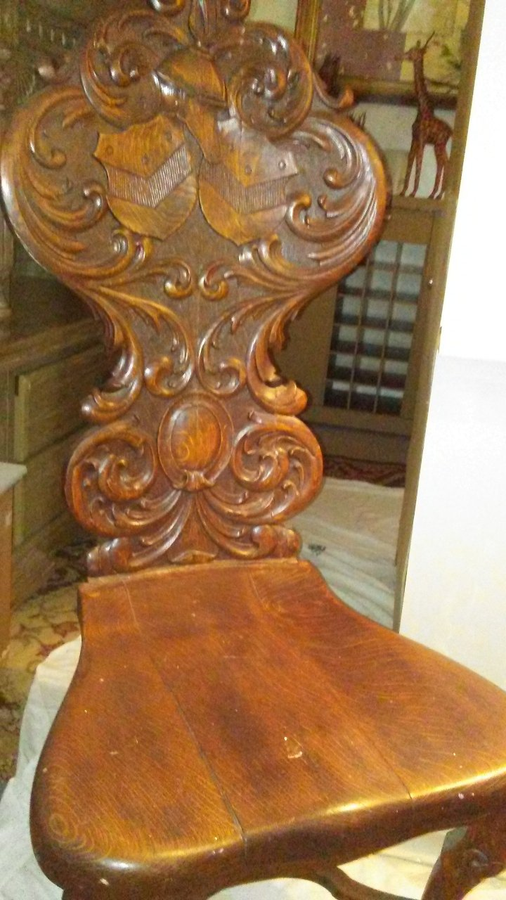 I Have Had This Hand Carved Chair For About 30 Years A