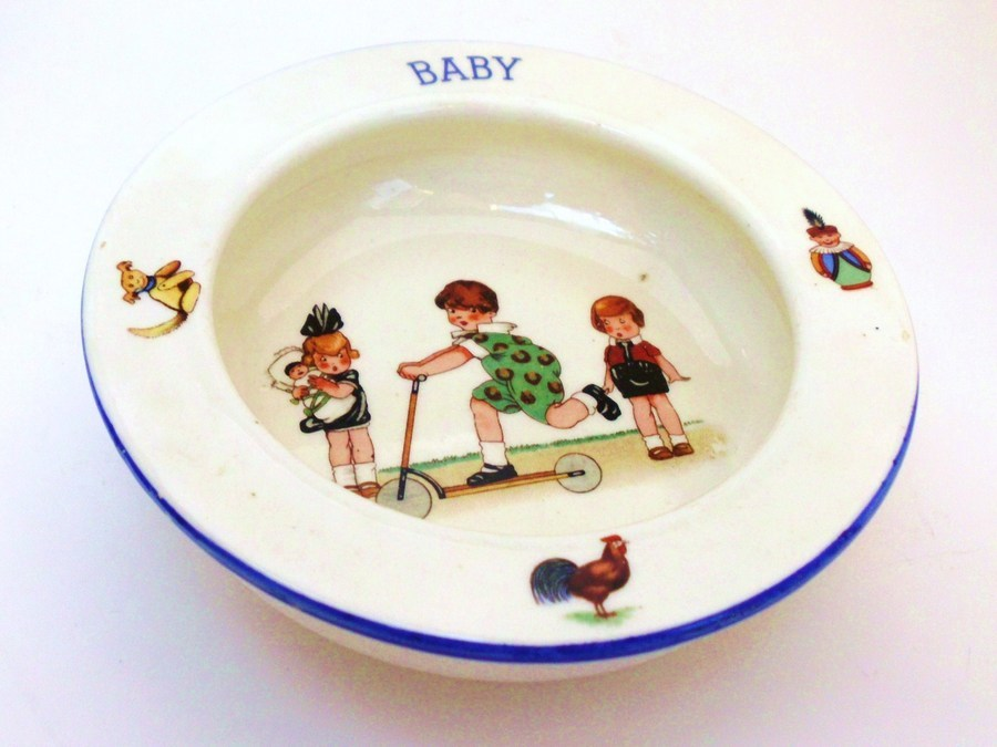 Vintage Baby Dish Value and Age auntlettuce 7 years ago & Vintage Baby Dish Value And Age | My Antique Furniture Collection