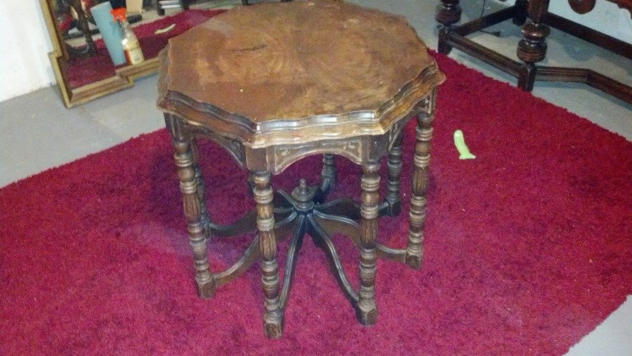 8 Legged Octagonal Side Table My Antique Furniture