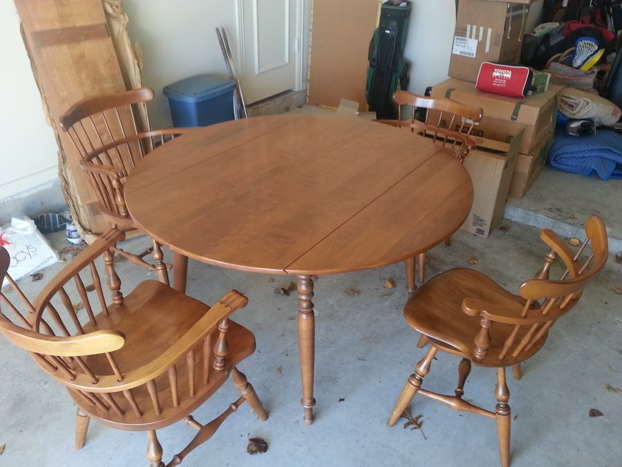 Ethan Allen By Baumritter Table And Chairs My Antique