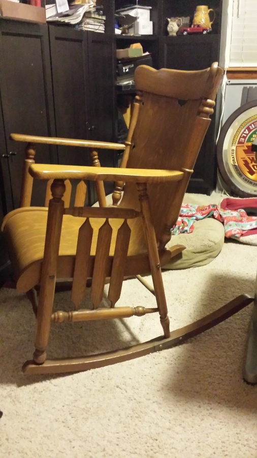 Rocking Chair Details Please My Friend Has This Rocking