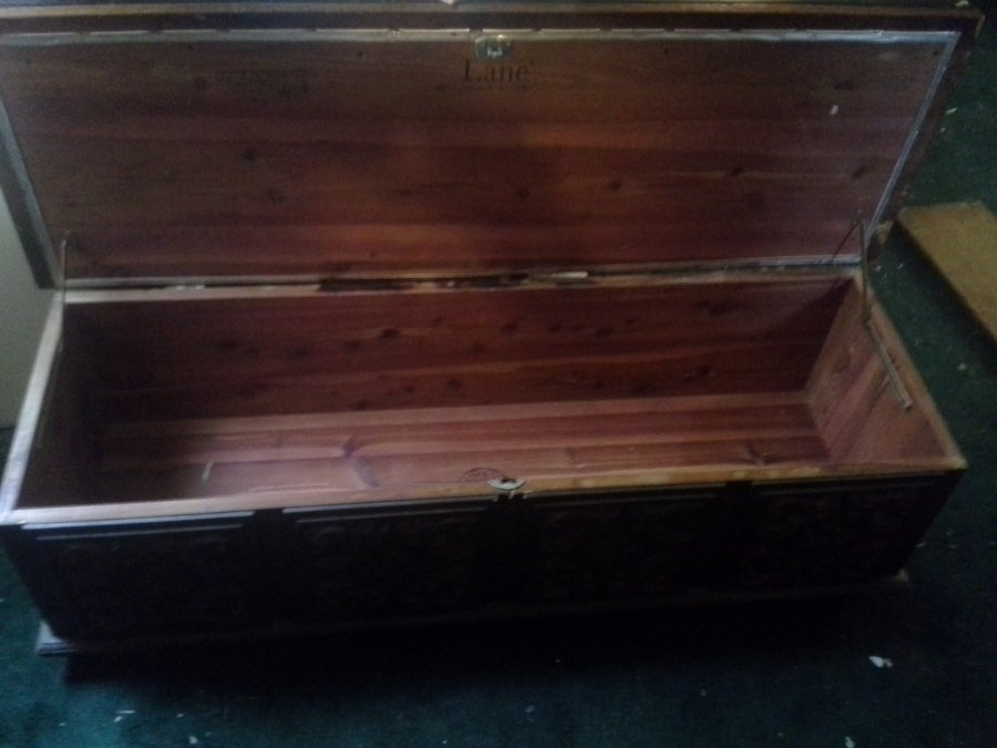 I Have A 1971 Lane Cedar Chest, Style No. 2404 23, Serial No. 2175190. It  I... | My Antique Furniture Collection