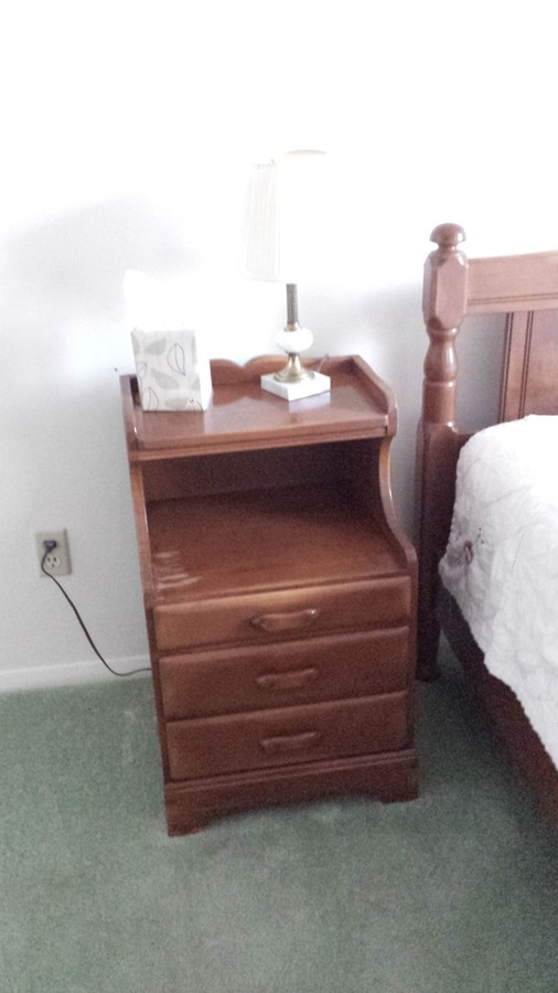 Marvelous I Have A Thomas P Beals Bedroom Set, Double With Headboard, Footboard,  Rails, Dresser With Mirror, Chest All In Excellent Condition, Night Table  Slightly ...