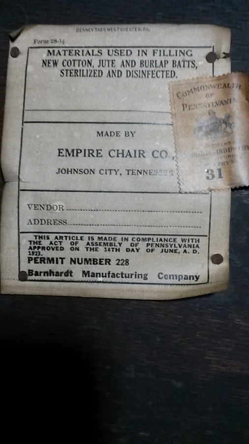 Empire Chair Company Dining Room Set I Found This