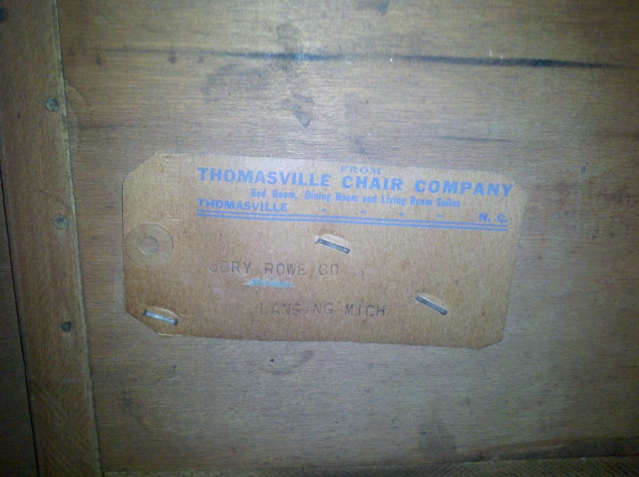 High Quality Thomasville Chair Co. Art Deco (?) Vanity    Info. Or Recommendations  Appreciated!