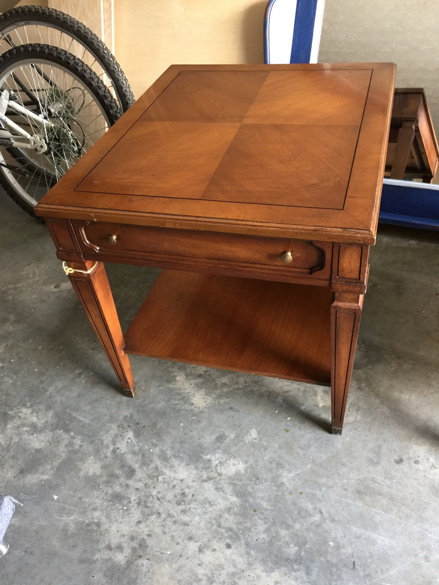 I Have A Rockwood Collection End Table Made By Weiman