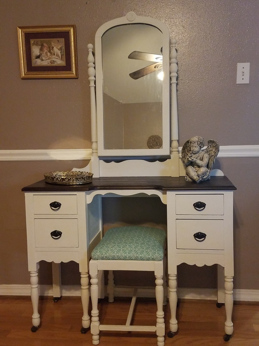 This Vanity Has Wooden Casters It Is Solid Wood No
