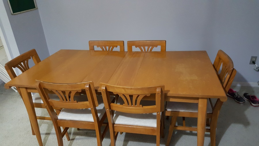 Style By Phoenix Table And 6 Chairs Looks Mid Century