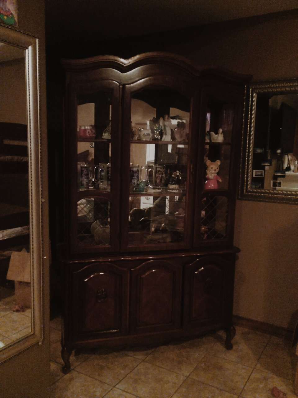 I Need To Know How Much This China Cabinet Is Please I Would Really Like To  Know