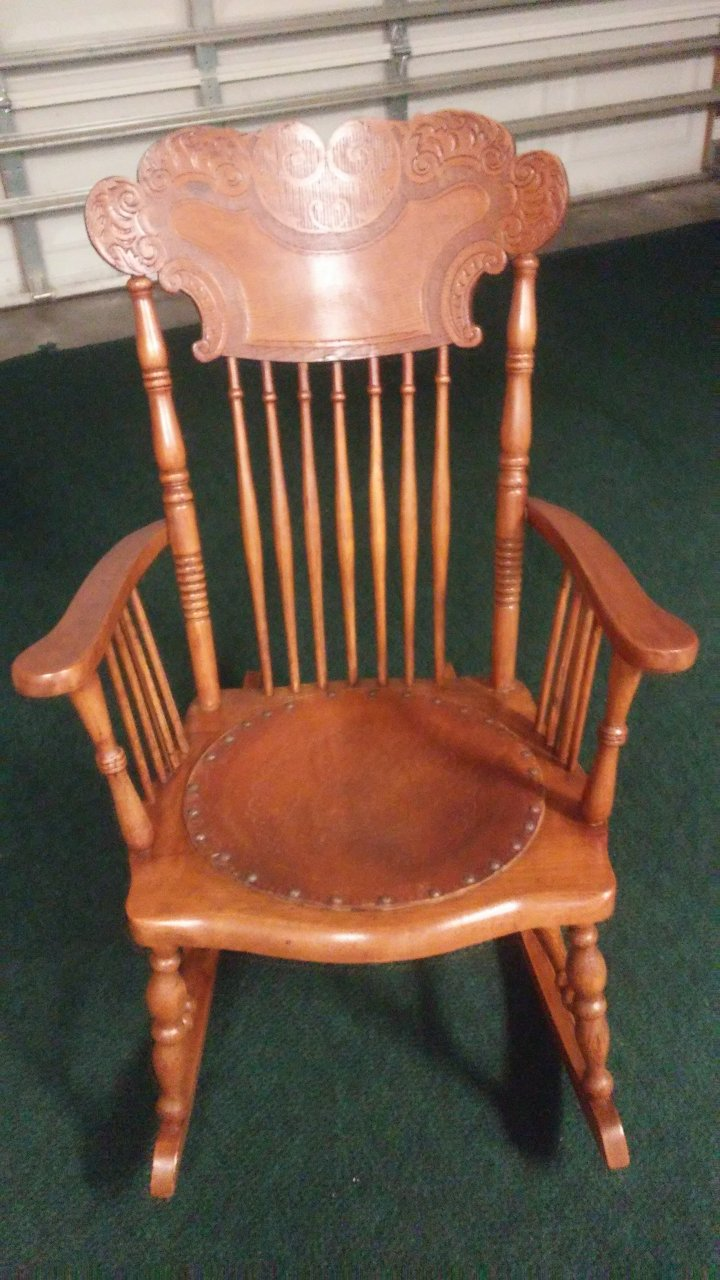 Quot Lion S Head Quot Rocking Chair Can Anyone Identify This