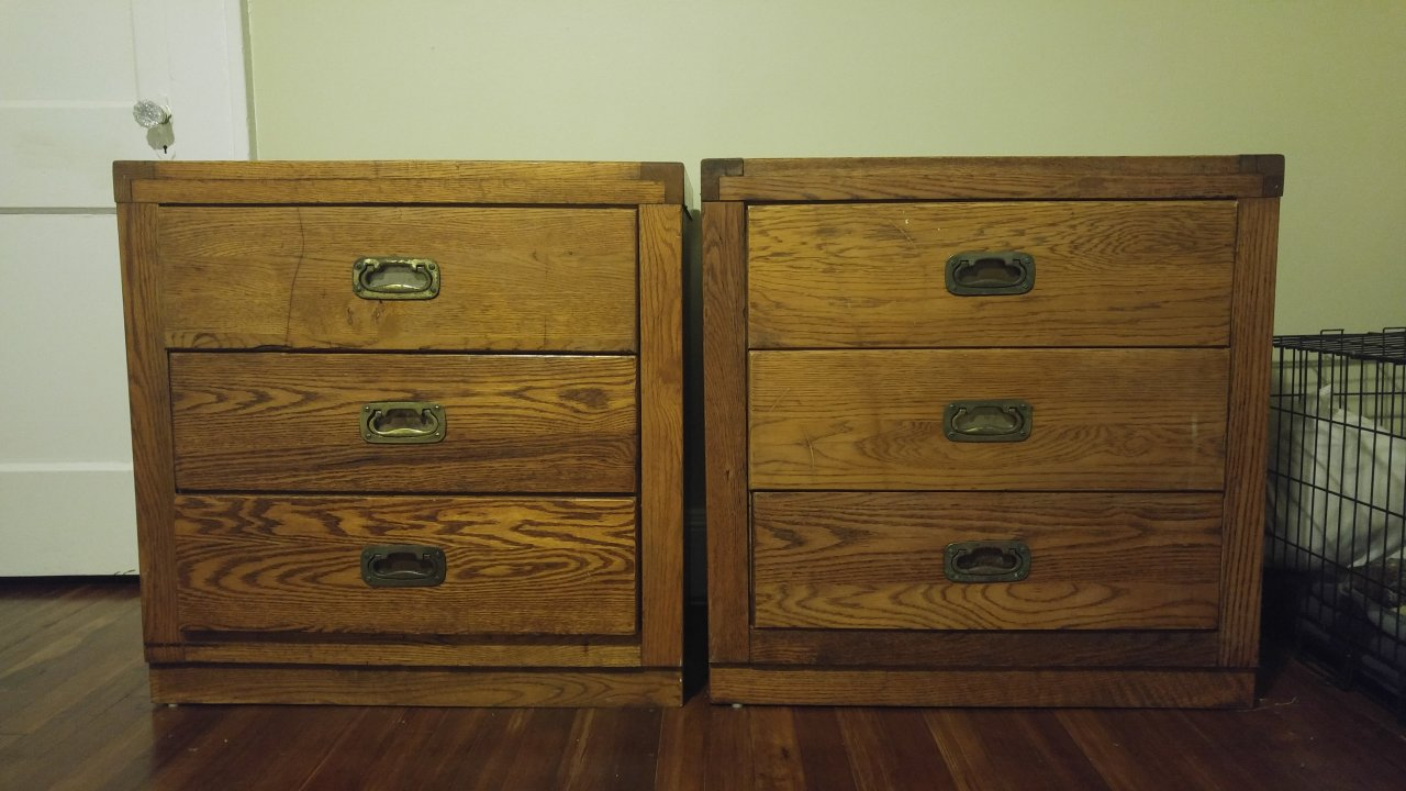 Young Hinkle Passport 3 Drawer Dressers My Antique