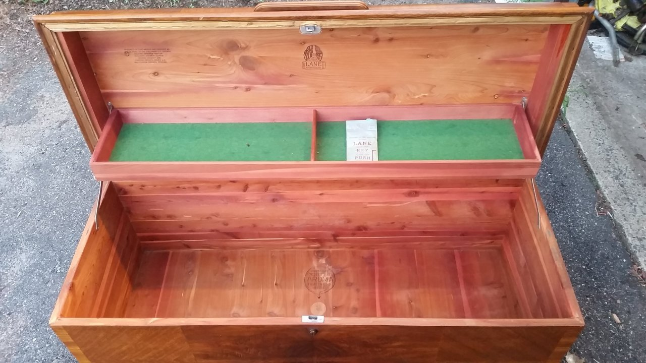 I Have A Lane Cedar Chest Serial Number 0740321 Style