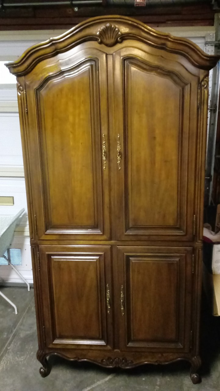 I Have A Drexel Touraine Armoire 210 440 I. I Canu0027t Seem To Find Any Info O.
