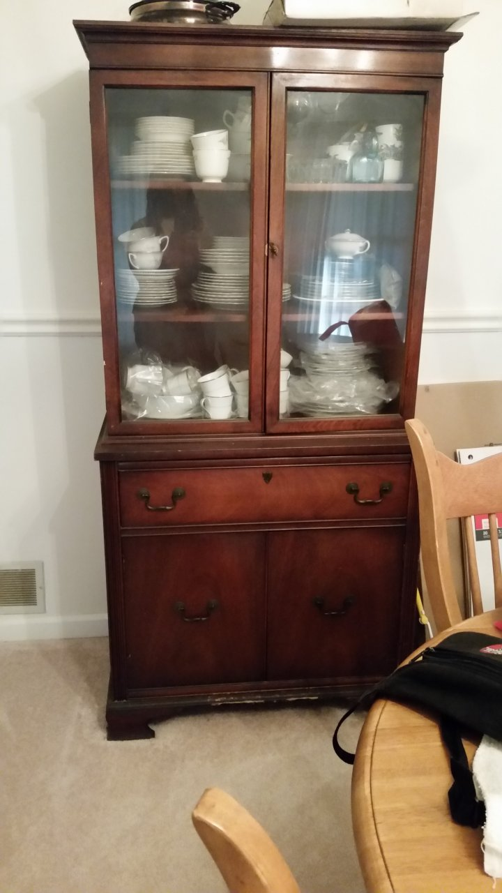 How Much Is My China Cabinet Worth?   My Antique Furniture Collection