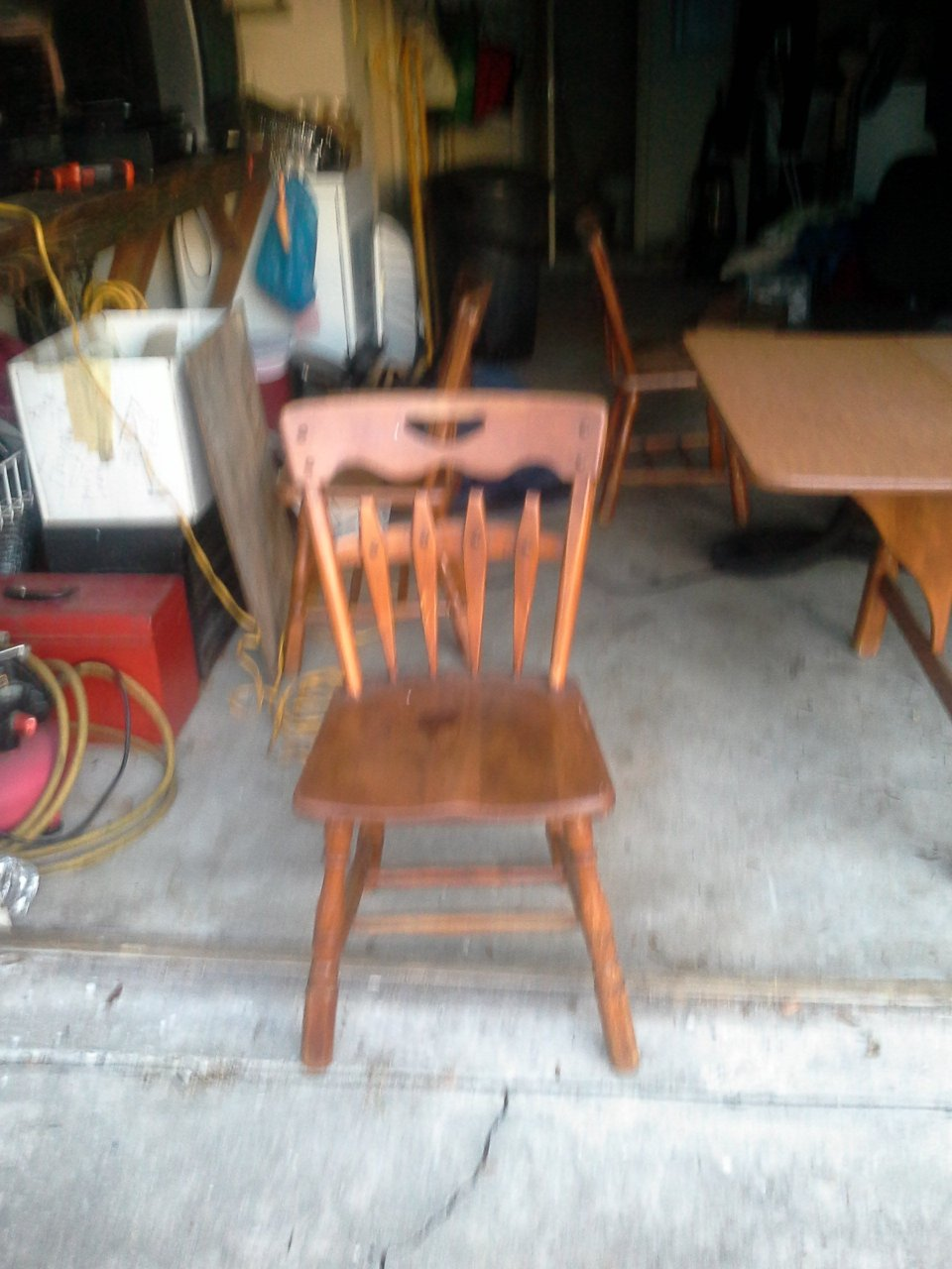 I Have A Table And 4 Chairs Temple Stuart What Is It Worth Thank U My Antique Furniture