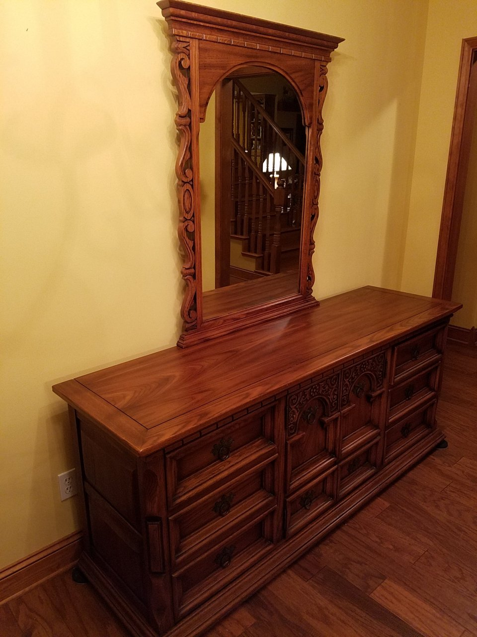 Link Taylor Oak Bedroom Set My Antique Furniture Collection