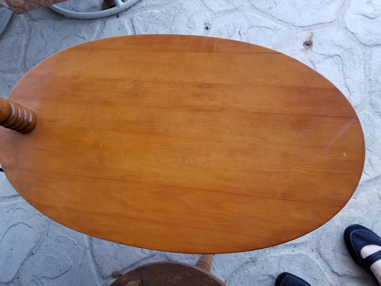 George B Bent Table With Built In Lamp My Antique