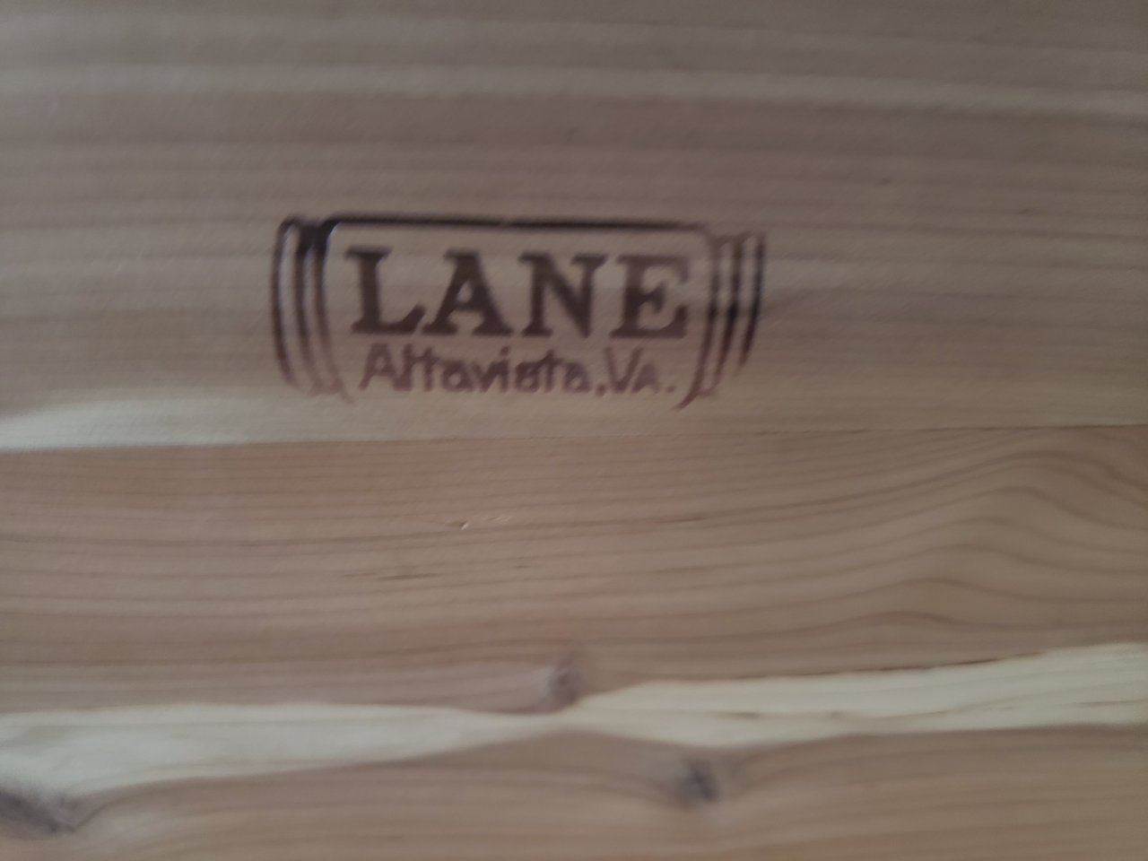 Chest lane age cedar What Is