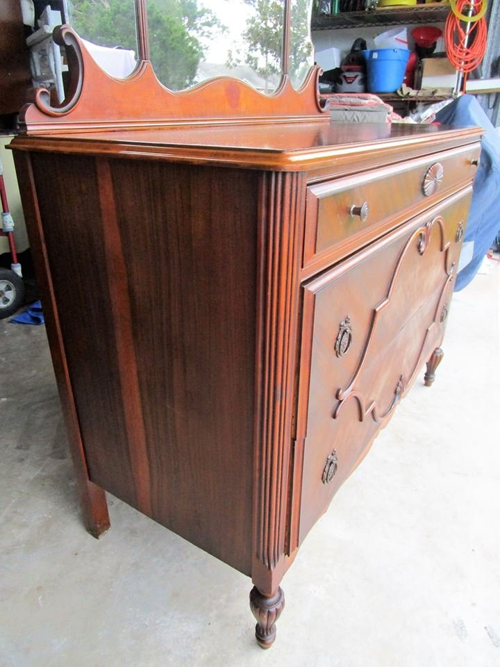 What Is The Value Of This T C F Co Dresser With Mirror