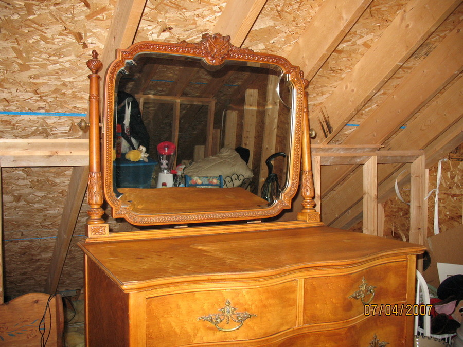 I Have A Birdseye Maple Vanity And A Large Dresser With
