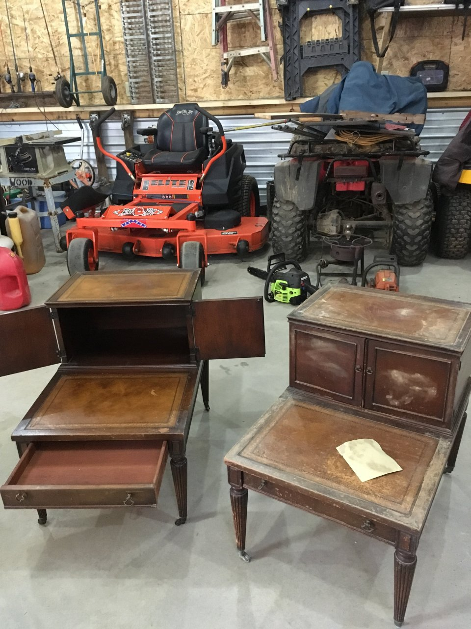 I Recently Bought Two Carolina Panel Co 1950 Side Tables