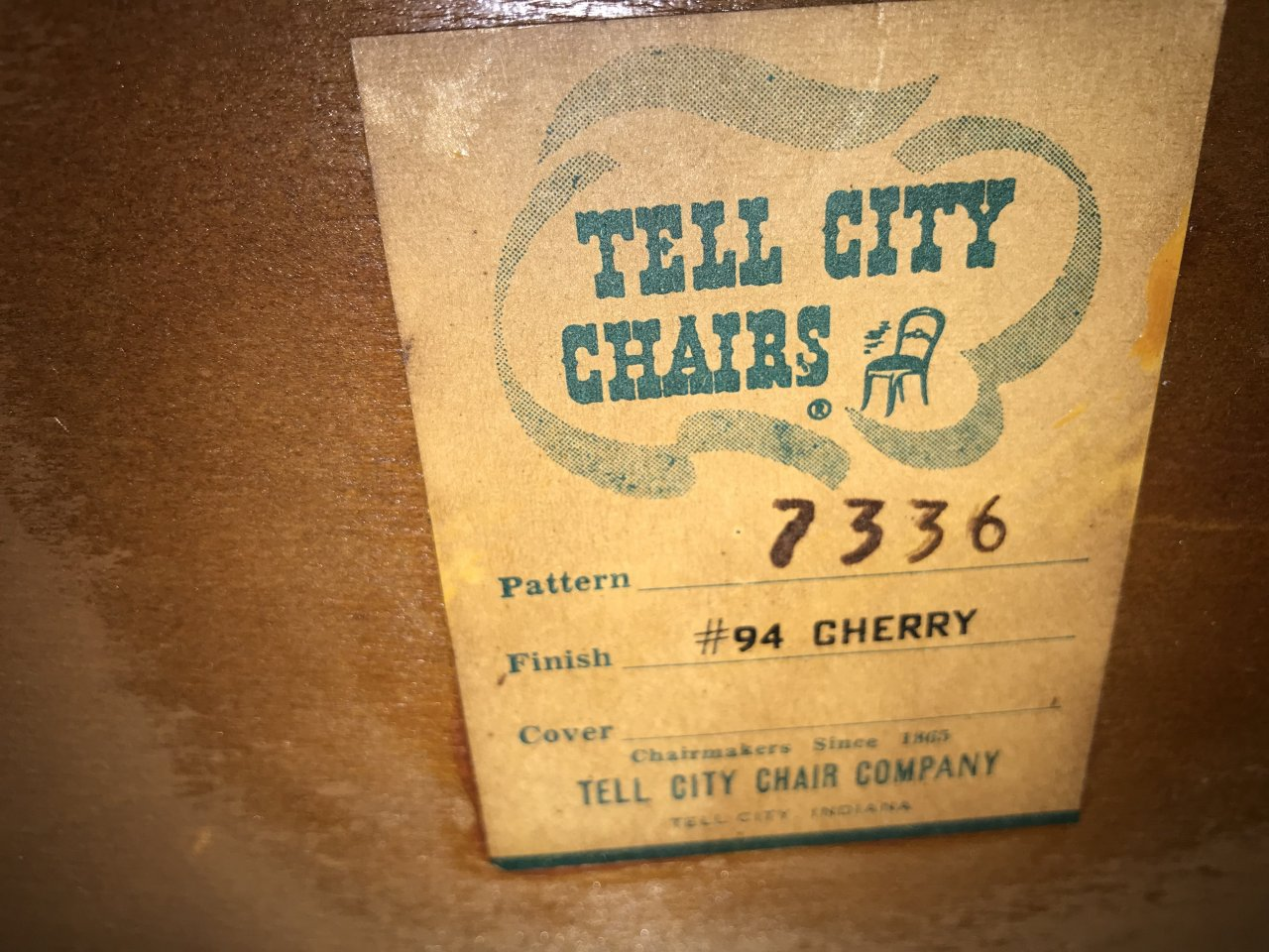 Have Full Tell City Solid Cherry Bedroom Furniture Glass