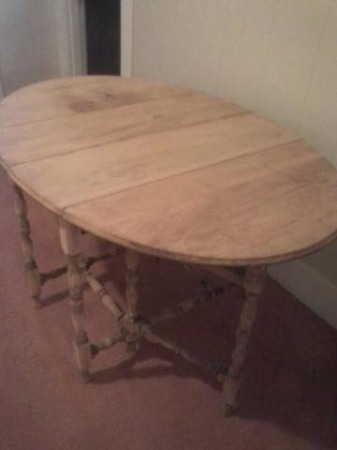Can Anyone Tell Me How Old This Table Might Be Or What It Might Be Worth?
