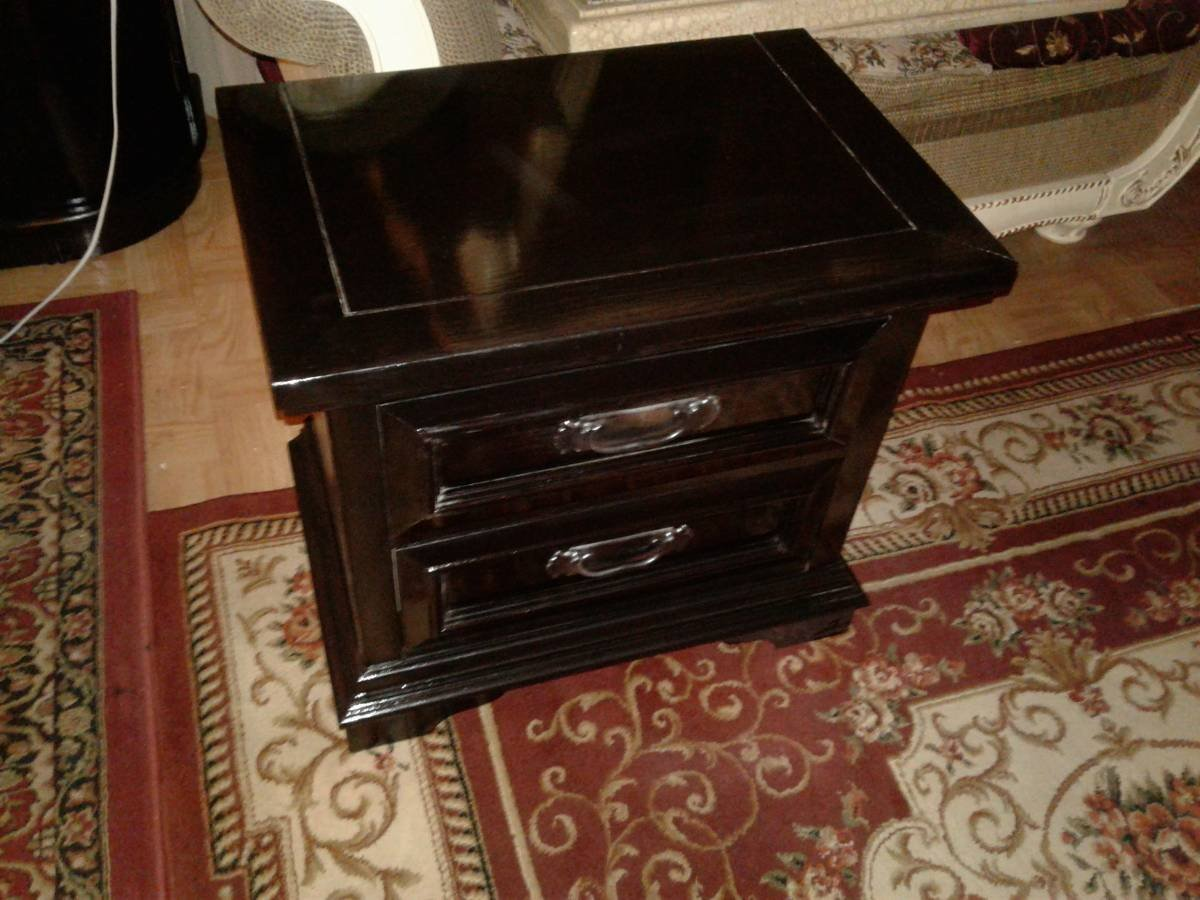 Dixie Furniture Co Rural English Chest Of Drawers And