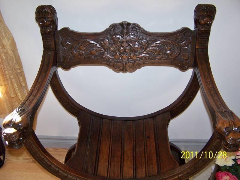 Antique Lion Head Chair Circa 1840 My Antique Furniture