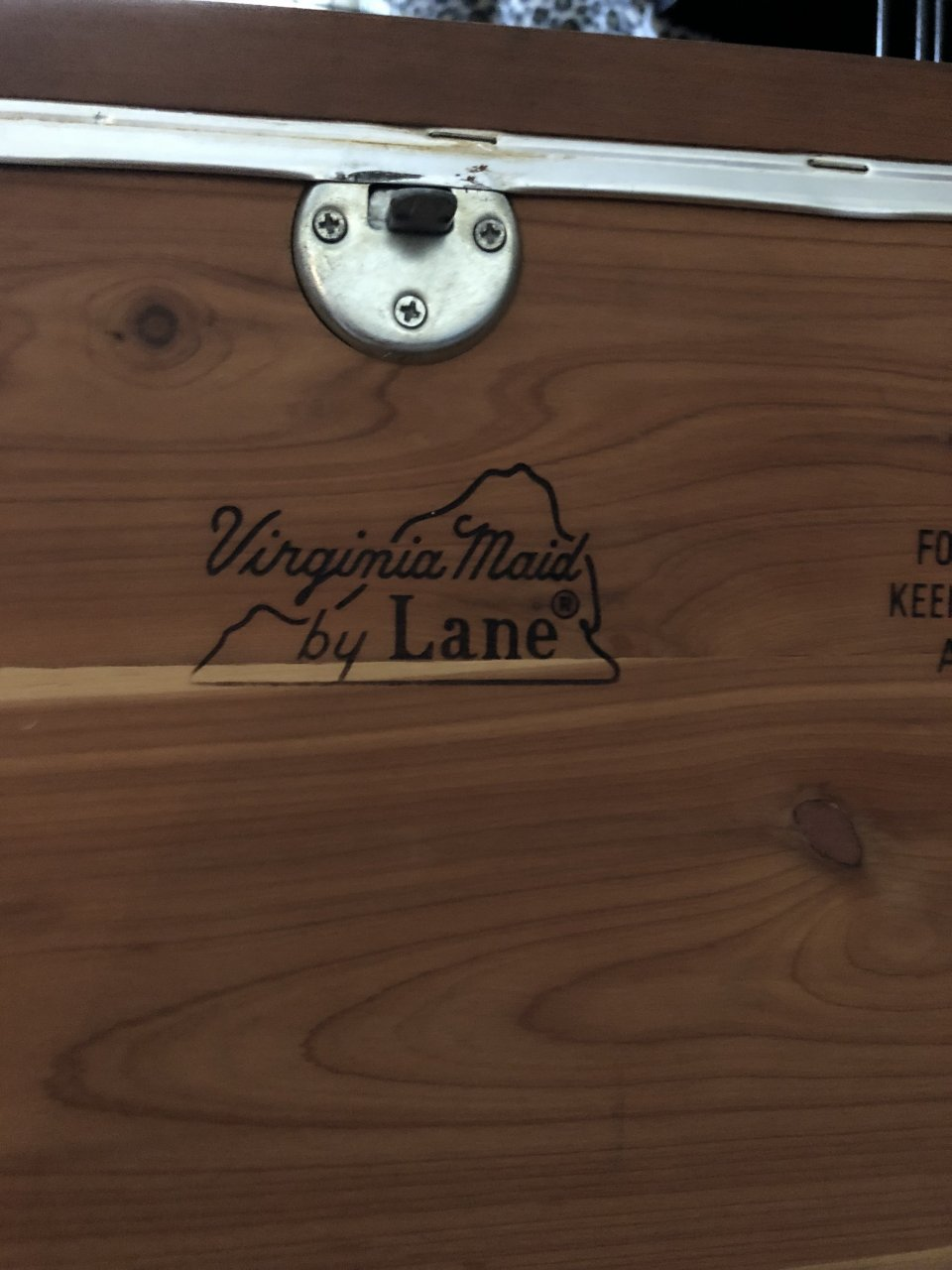 What Is The Value Of A Virginia Maid Cedar Chest With A