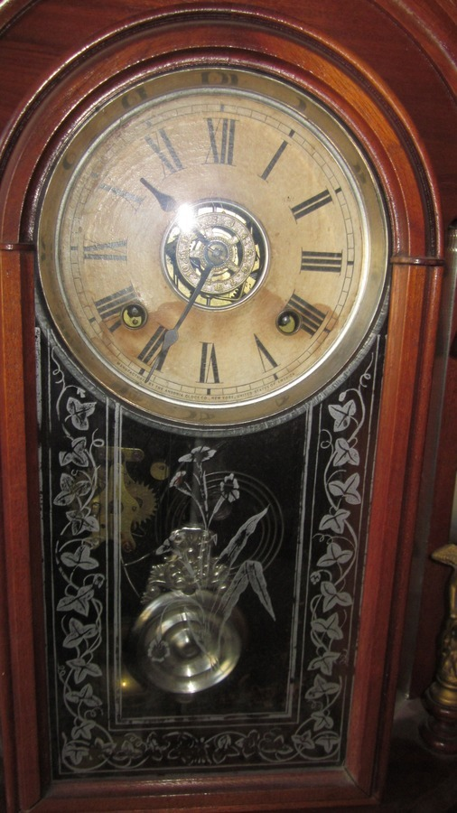Have This Wonderful Ansonia Quot Triumph Quot Mantle Clock C 1885
