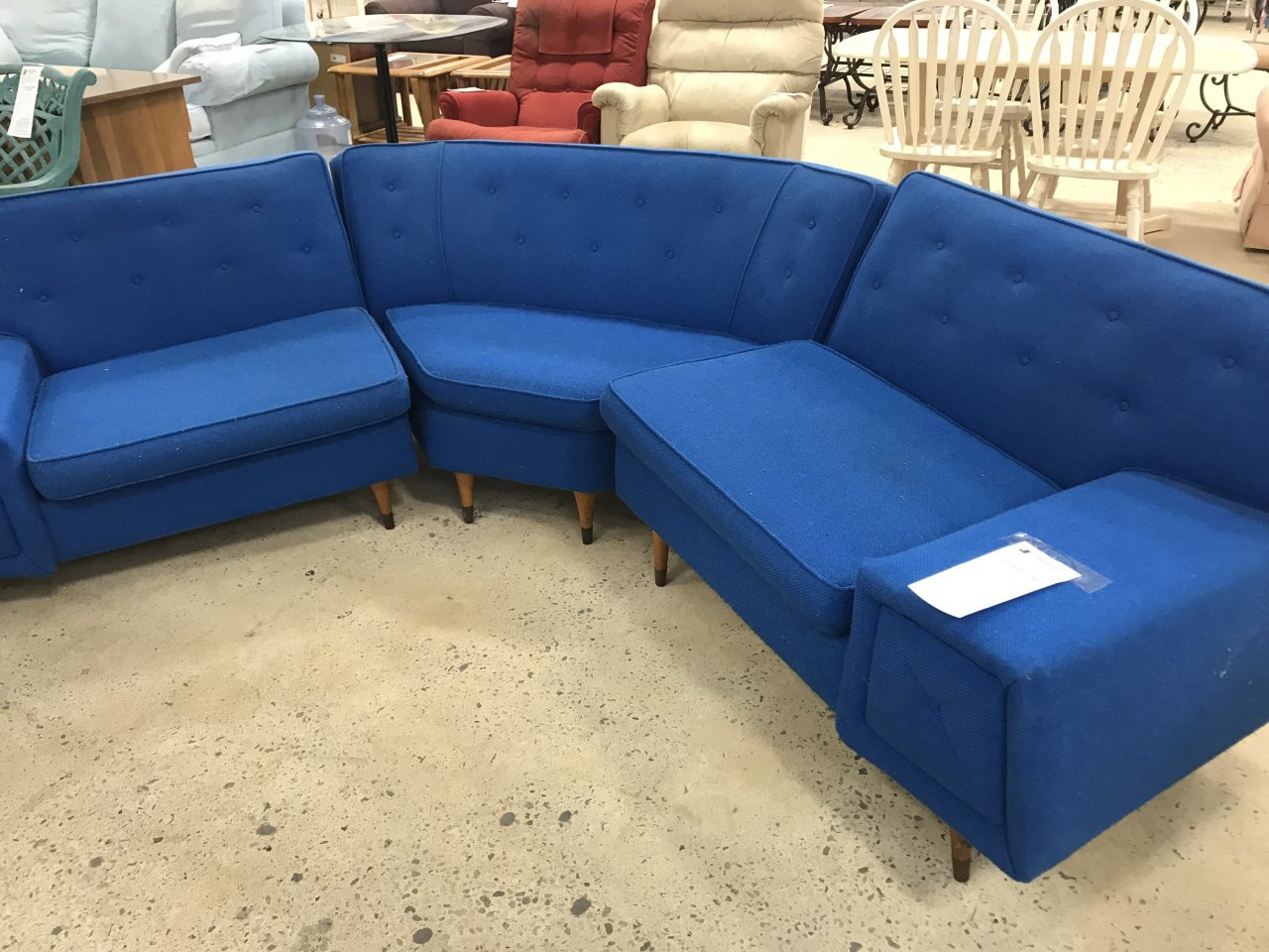 1960 S Kroehler Sectional My Antique Furniture Collection