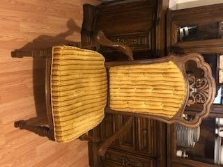 It Is Very Beautiful And Has Been Well Taken Care Of. All Of The Set Is In  Excellent Condition Except For The Table Has A Few Areas That Would Need  Sanded ...