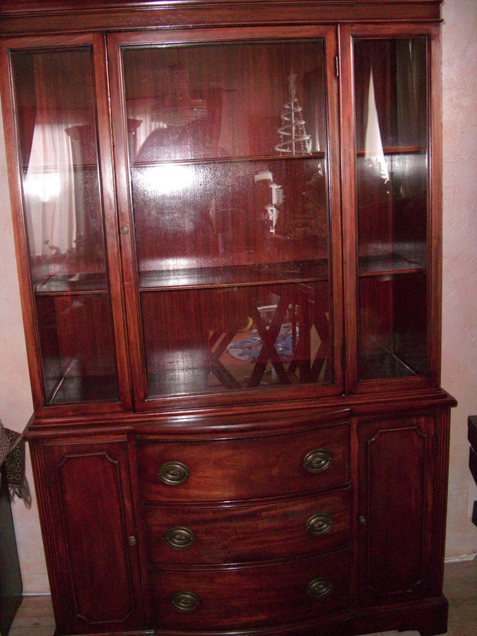 I Have This Antique China Hutch I Think Maybe From The 40