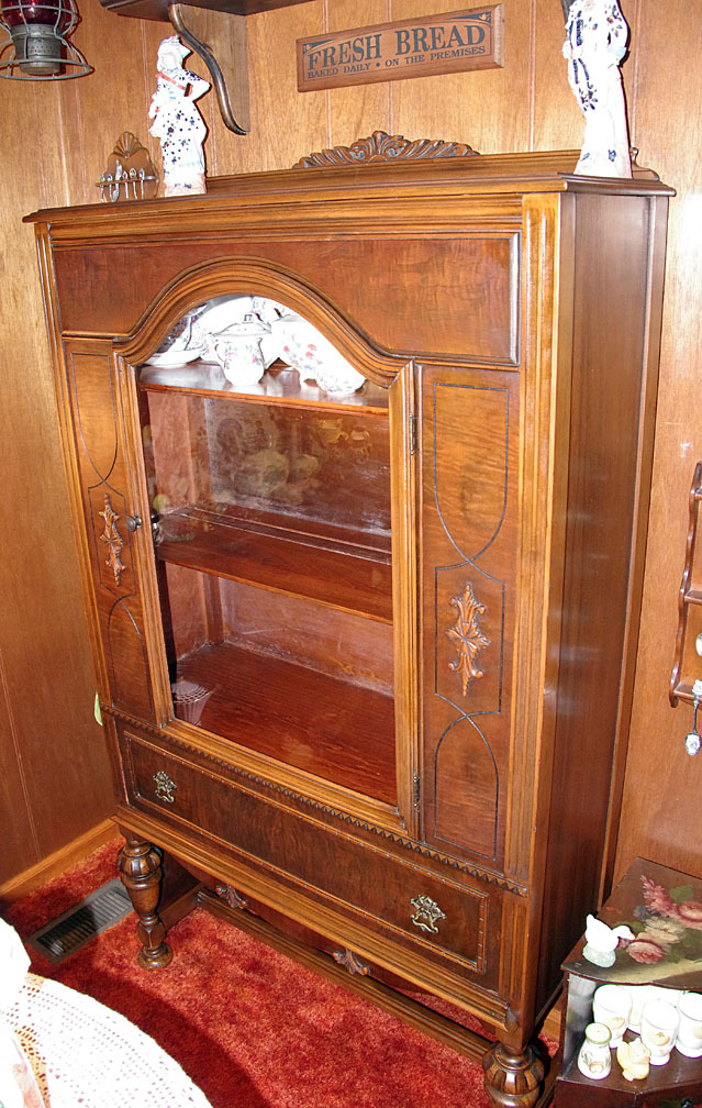Federal Style China Cabinet My Antique Furniture Collection