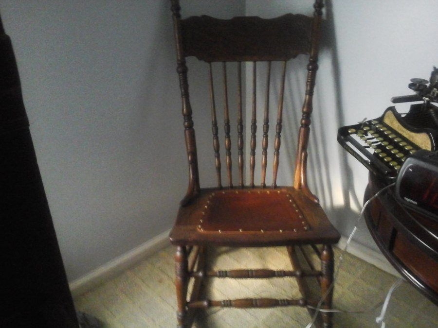 I Have An Old Larkin Soap Company Rocking Chair With No