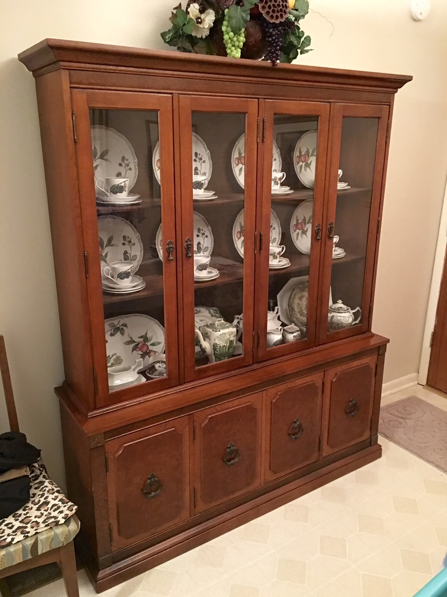 I Have The China Cabinet That Matches It If You Are Interested.