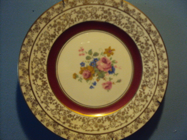 I Have Two Antique Plates With 24K Gold Trim. I Would Like To Know ...