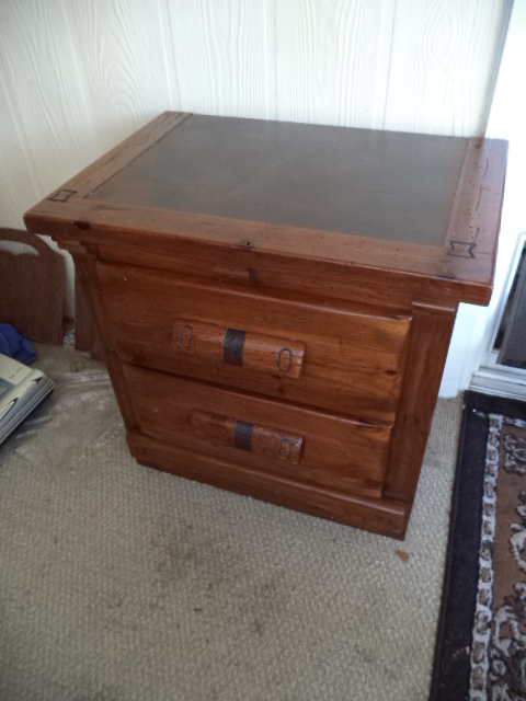 I Have A Link Taylor Rawhide Tall Dresser Nightstand And