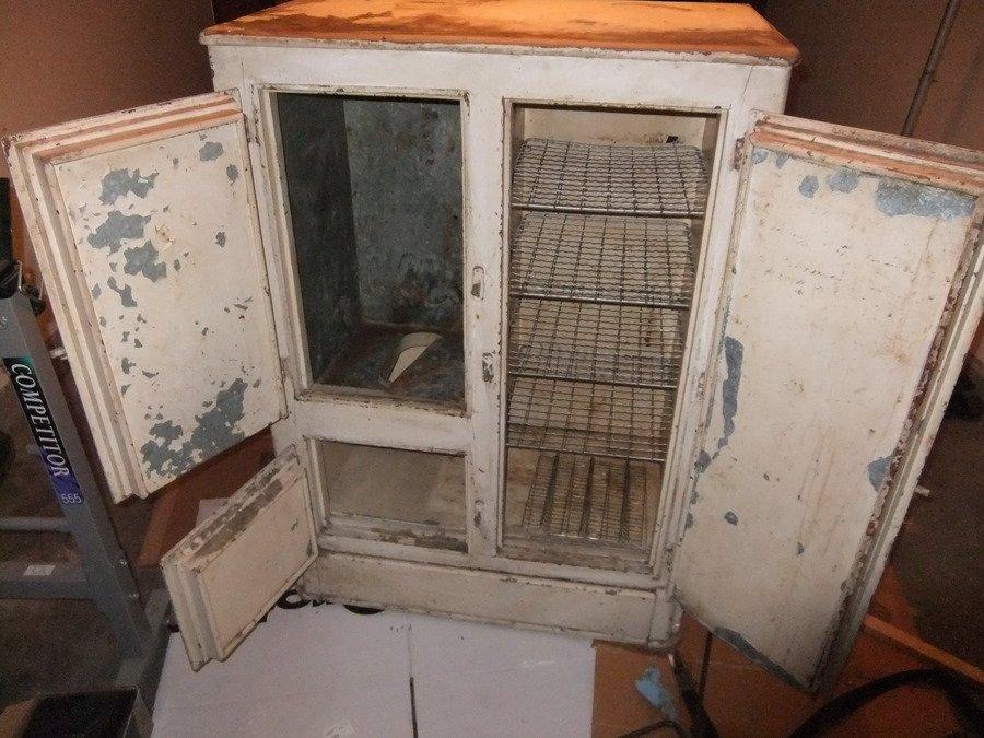 Vintage Ice Box Restoration My Antique Furniture Collection