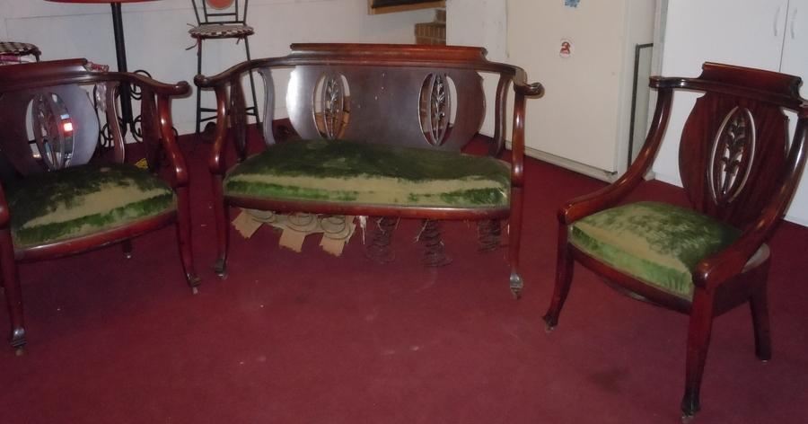John M Smyth Parlor Set 1903 My Antique Furniture Collection